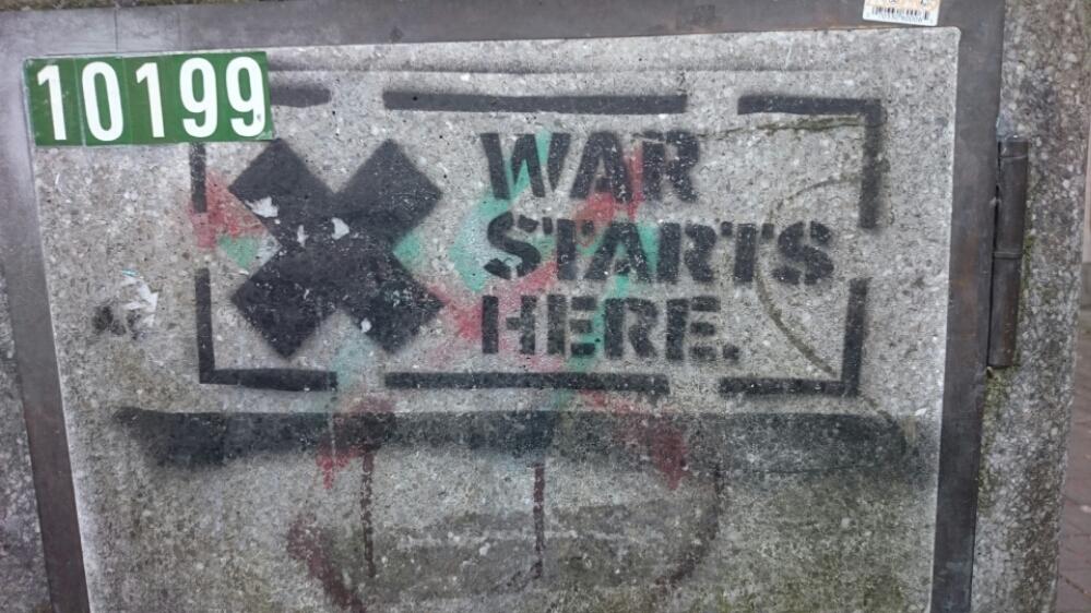 War Starts here